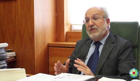 Manuel Jesús Dolz, exfiscal en cap de Lleida i número 2 de Justícia.