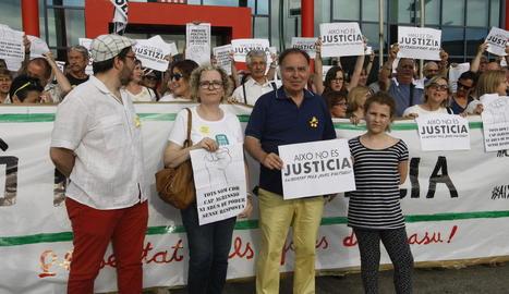 Josep Aldabó i Rosa Burrell han presentat sengles denúncies.