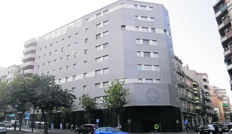La Clínica de Ponent, ubicada a Prat de la Riba.