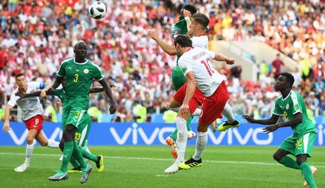 Krychowiak va ser l'autor del gol de Polònia davant de Senegal.