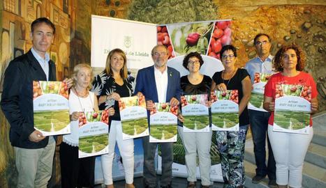 Presentació de la nova temporada d''Aitona en Fruita'.