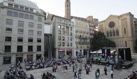 Plaça Sant Joan de Lleida