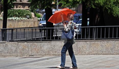 © L'estiu arranca amb rècord de calor