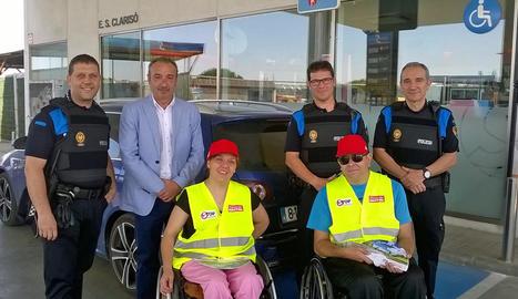 Campanya per una conducció responsable a Lleida