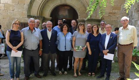 Reñé estrena la portada d'aigua de Montsonís a Salgar