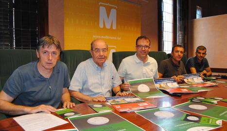 Consistori, CIS Ángel Olarán i Xafatolls organitzen la prova.