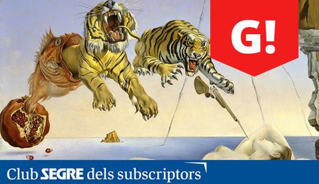 Una de les obres de Salvador Dalí, el marit de Gala.