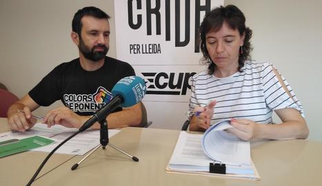 Pau Juvillà i Esther Sancho, de la Crida.