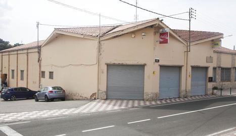 El local social L'Amistat de Ribera d'Ondara.
