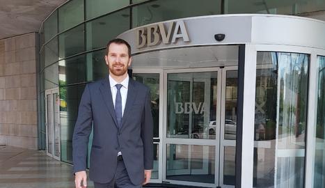 Enric Miró, tècnic de transformació digital de BBVA.