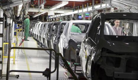 Imatge d'una factoria automobilística de Figueruelas.