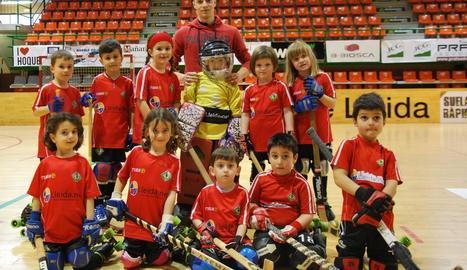 Ruben Rossell ens ha fet arribar la foto d'aquest equip de l'Hoquei Club d'Alpicat.