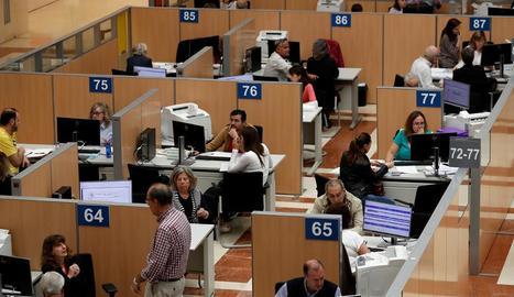 L'AEAT ha tornat 6.927 milions d'euros.