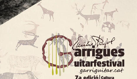 El 7è Garrigues Guitar Festival s'estrena a la Roca dels Moros del Cogul