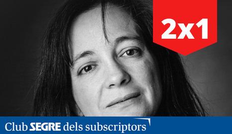 L'escriptora d'Ivars d'Urgell, Maria Mercè Marçal.