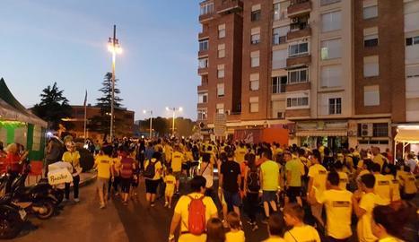 La Caminada a la Llum de la Lluna reuneix 1.200 participants