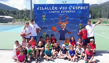 El campus de Vilaller reuneix trenta joves