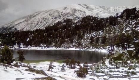 El Pirineu, blanc per la pedra