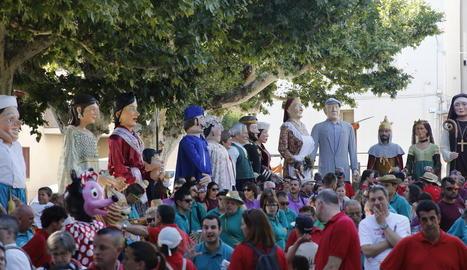 Més de cinc-centes persones a la Trobada Gegantera de Bellvís