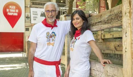 Javier Solano i Elena S. Sánchez.
