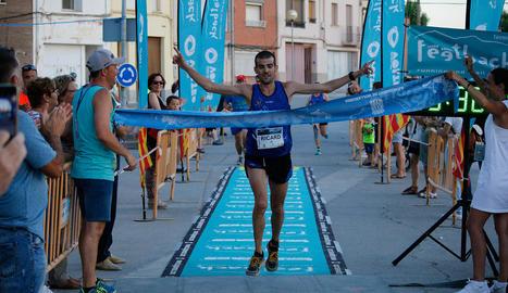 Ricard Pastó, del Xafatolls, es va imposar a la prova masculina de 10 quilòmetres.