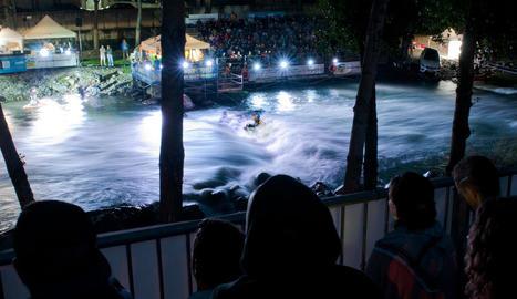 Les finals es van disputar a la nit amb gran afluència de públic.