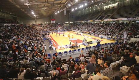El Barris Nord acollirà la Lliga Catalana ACB per tercera vegada després de les disputades el 2002 i 2003.