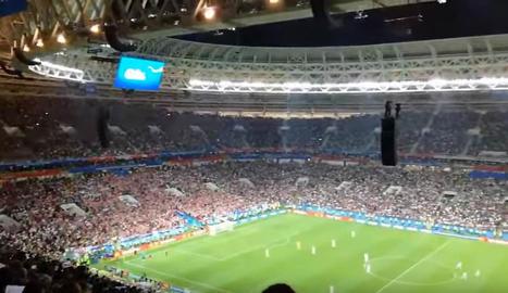 VÍDEO. Inglaterra intencó marcar mientras Croacia celebraba el gol
