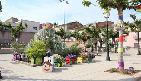 Imatges de l'entrega de premis del concurs Garrigues en Flor