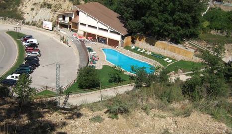 Imatge d'arxiu de la piscina de la Coma i la Pedra.