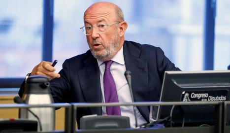 L'expresident del Banc Popular Emilio Saracho.