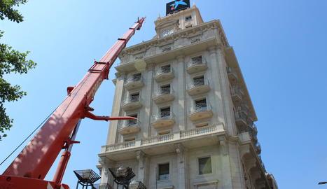 Reformes a la vuitena planta de l'emblemàtic edifici del Montepio