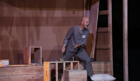 La companyia lleidatana va presentar aquest espectacle al gener a Lleida, al Teatre de l'Escorxador.