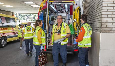 Programa sobre els que treballen en emergències sanitàries.