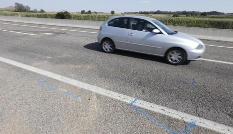 Marques de l'atestat de l'accident de l'Ll-11 a Lleida.