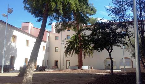 Jardins de l'antic convent de Santa Clara.