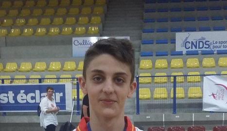 Plata d'Àlex Rubín de Celis amb Espanya