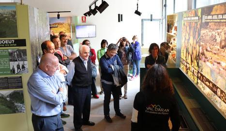 Inauguració del Centre d'Interpretació d'Artiga de Lin.