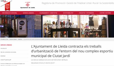 """La Paeria nega """"una privatització"""" a Ciutat Jardí"""