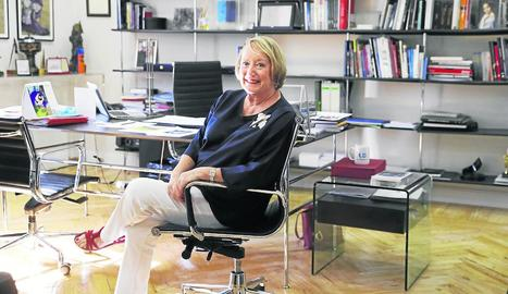 Imatge d'arxiu de la presidenta d'Honor de l'Acadèmia de Cine Espanyol Yvonne Blake.