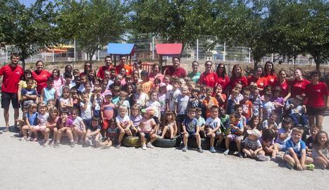 Rècord de participació a l'Esplai Esprai de Tàrrega, amb més de 170 nens inscrits aquest estiu