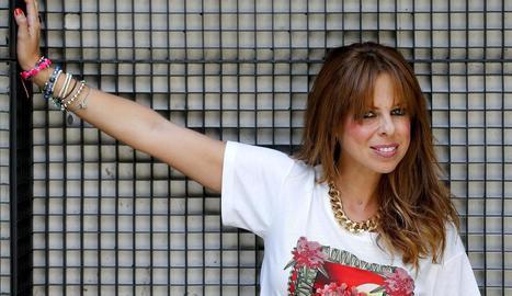 Foto d'arxiu de la cantant andalusa Pastora Soler.