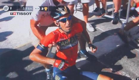 Peter Sagan celebra un nou triomf al Tour de França.
