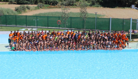 Les estades de lleure d'Alpicat, que dilluns van arrancar el segon torn, compten amb la participació de prop de dos-cents joves.