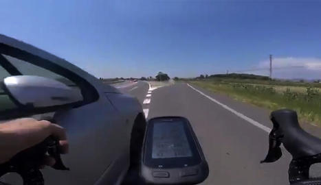 La càmera que el ciclista portava al manillar va ser clau per poder identificar l'ara condemnat.