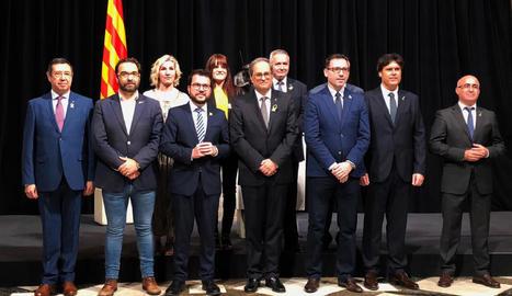 Els delegats del Govern a Lleida i el Pirineu assumeixen els seus càrrecs