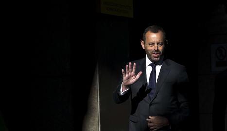 Sandro Rosell, en foto d'arxiu, serà traslladat d'aquí a uns dies a una presó catalana.