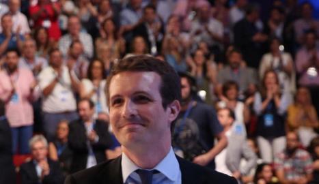El nou president del PP, Pablo Casado.