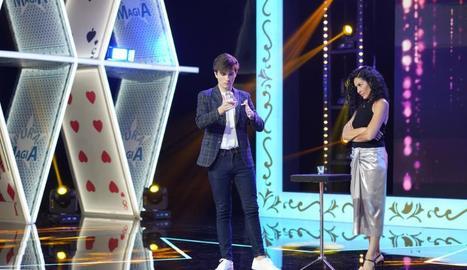 Nina actua a 'Pura magia'