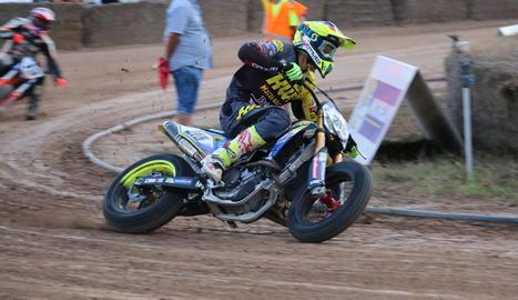 Jaume Gaya, durant la participació dissabte passat a la tercera cita del campionat.